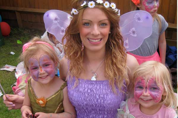 Parties and birthday party entertainment with Lucy Sparkles and Friends